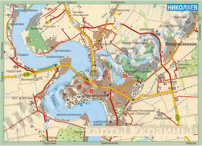 Электронная Карта Шымкента
