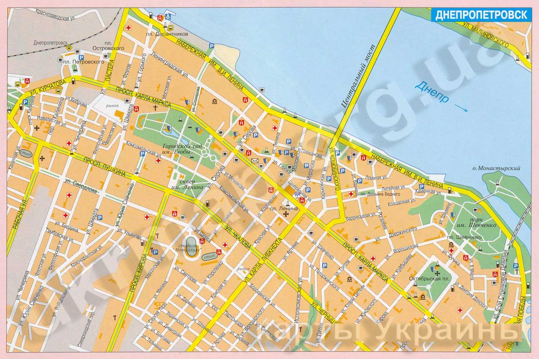 результаты карта города днепропетровска с улицами и домами подробно ежедневные обновления