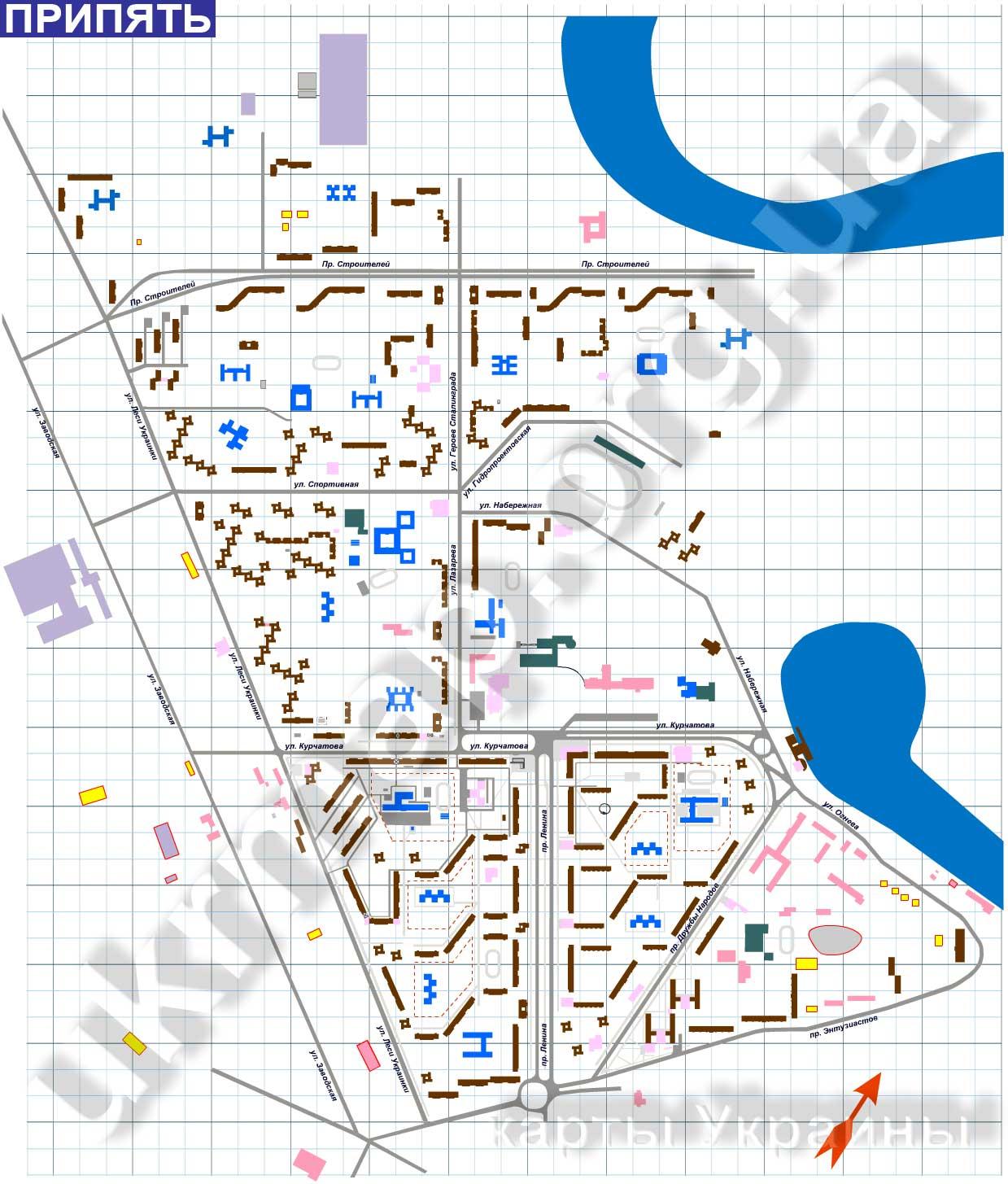 Скачать карту для майнкрафт город припять