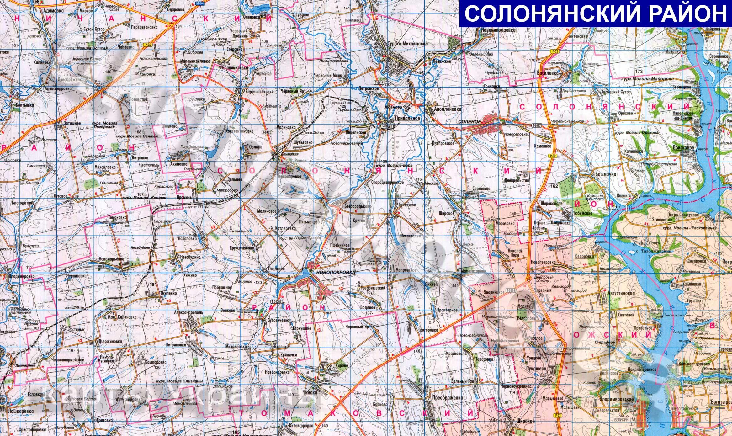 http://ukrmap.org.ua/Maps/Rayony_oblastey_Ukraine/Dnepropetrovskaya_oblast/Solonyanskiy_rayon/Solonyanskiy_rayon_(2334x1390).jpg